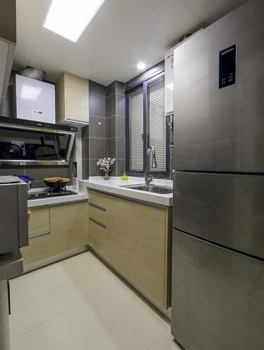 日式风格装修,青岛业主装修,60平小户型装修,紧凑三居装修