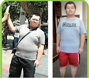 拼了!大学男生一月减肥26斤 学校奖励2000元