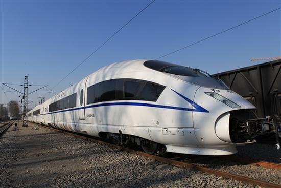 西安首配国内最快高铁:运营时速380公里