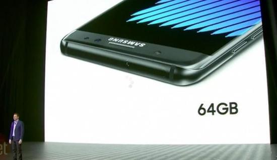 8月19日登陆美国 三星Galaxy Note7正式发布