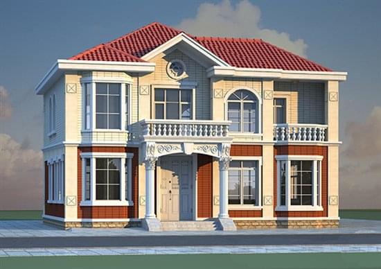 现代,新农村住宅,简单农村房屋,砖混结构,框架结构,木结构,钢结构等