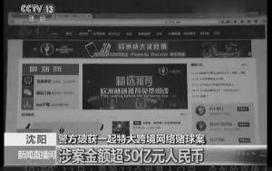 70多名嫌疑人涉案超50亿 沈破获特大跨境赌球案