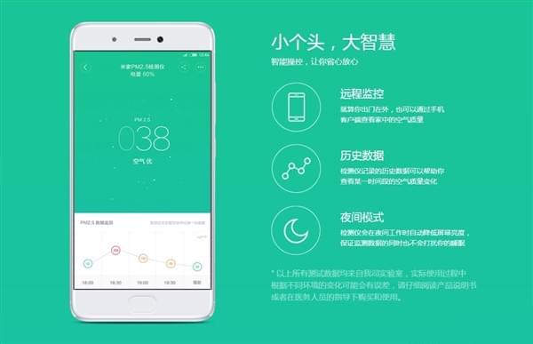 小米PM 2.5检测仪发布:仅重100g 售价399元的照片 - 3