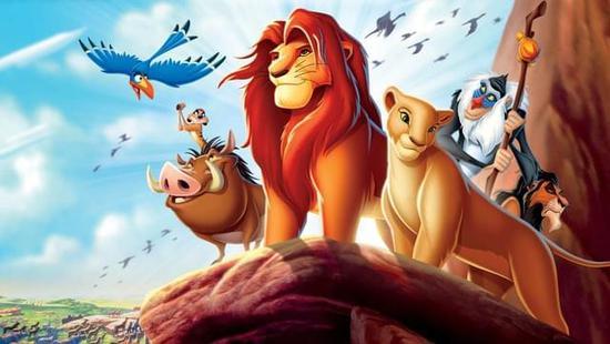 《狮子王》翻拍成真人电影,与《奇幻森林》类似,以cg特效完成动物角色图片