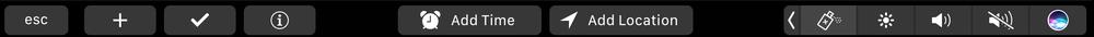 抢先看苹果自家的应用会如何支持Touch Bar的照片 - 37