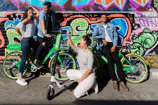 共享滑板车创企Lime融资3.35亿美元 Uber等领投