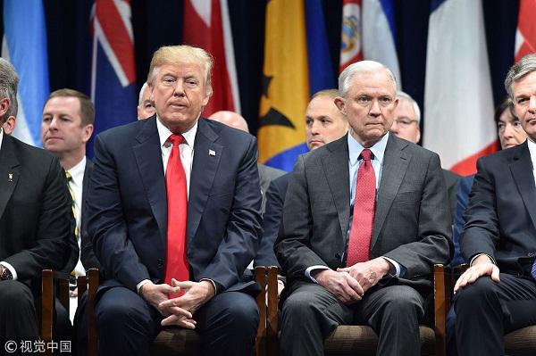 """""""离职潮""""再起?美司法部长或下台 特朗普想好继任者"""