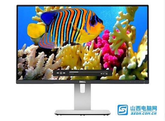 戴尔u2414h超窄边框显示器