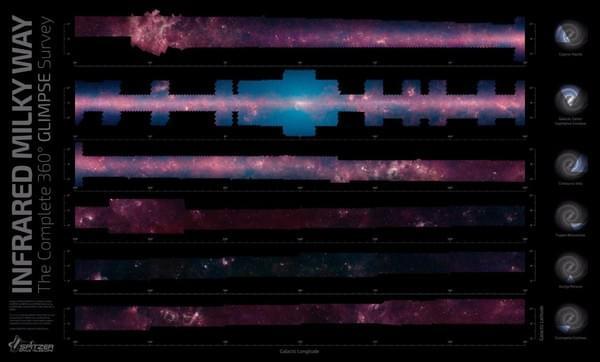 """斯皮策太空望远镜开启""""跨越""""阶段任务的照片 - 3"""