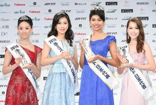 2016日本小姐冠军出炉 称从小被同学嘲笑