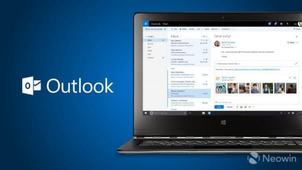 Outlook升级:支持Google Drive和Facebook图片当邮件附件的照片 - 1
