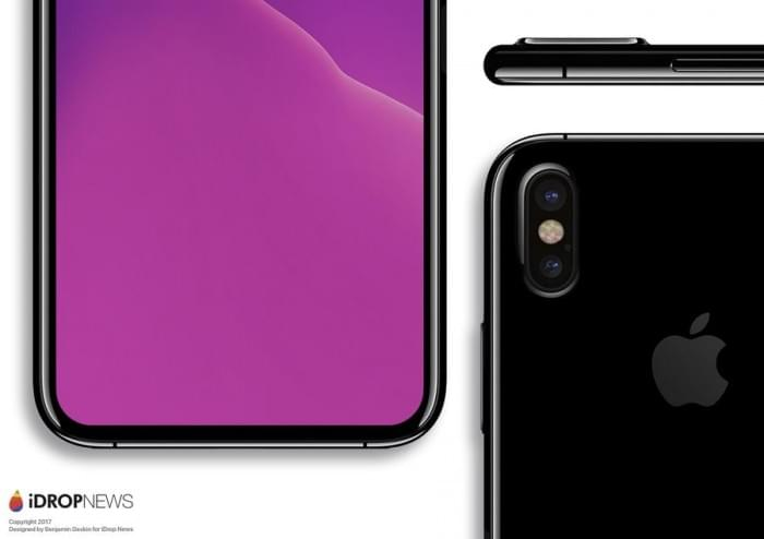 基于真实设计图的iPhone 8渲染图:屏占比可和S8一较高下的照片 - 3