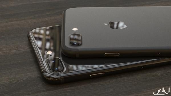 黑色iPhone 7渲染图 都是黑色你更喜欢哪个呢的照片 - 1