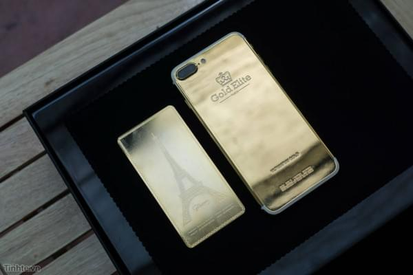 约5.5万 24K黄金iPhone7 Plus开箱图赏的照片 - 7