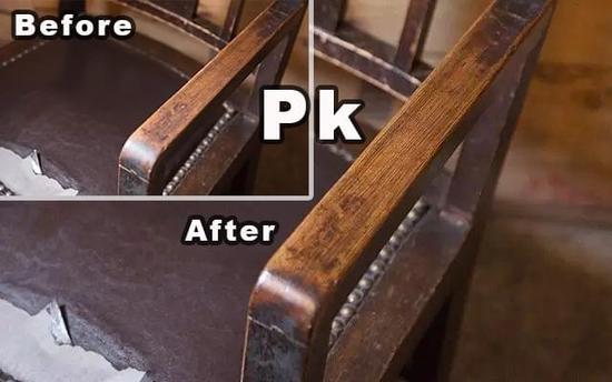 汽车真皮座椅和内饰,行李皮箱甚至是木质家具.