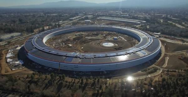 苹果飞船总部4月开业官方命名Apple Park苹果公园的照片 - 1