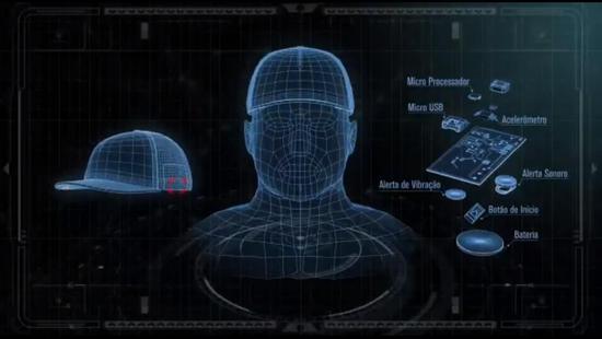 福特汽车设计卡车安全帽,能够监测司机是否打盹
