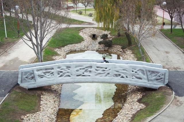 世界首座混凝土3D打印桥 西班牙落成