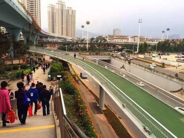 全国首条空中自行车道建成 全长7.6公里的照片 - 21