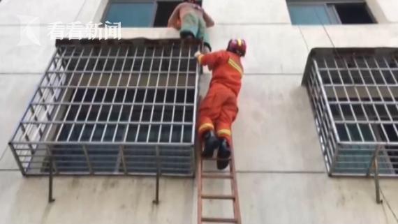 37岁男子贪玩爬入邻居家被困 4天滴水不沾