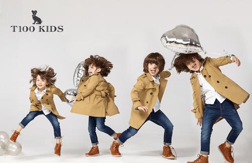 """创新商业模式,看T100童装的""""逆龄""""生长路"""