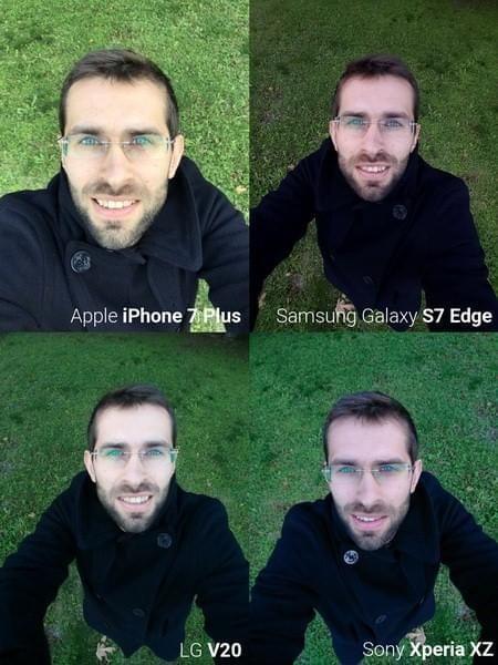 旗舰手机自拍对比: iPhone 7 Plus表现突出的照片 - 2