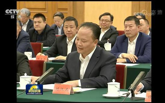 在民企座谈会上发言的十位企业家是谁?