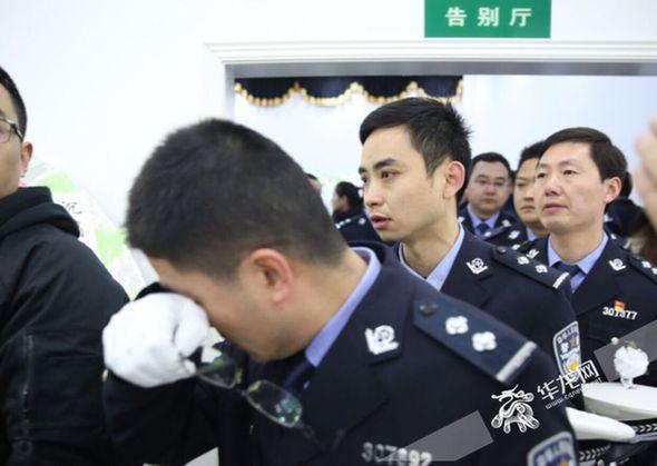 千人送别重庆英雄警察 市公安局追记个人一等功