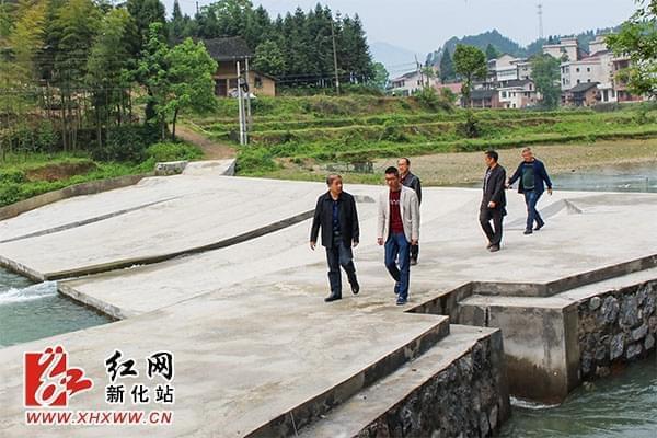 """新化县实施小农水建设打通项目区灌溉""""最后一公里"""""""