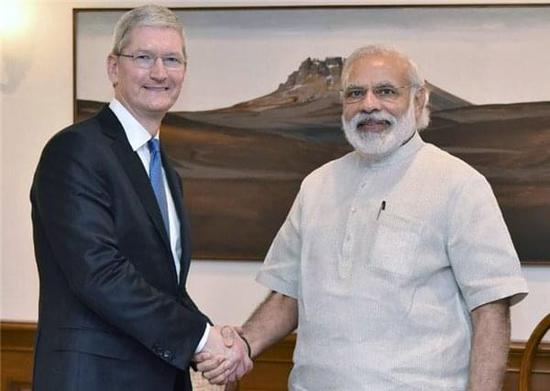 印度政府终让步:支持苹果在印扩张计划