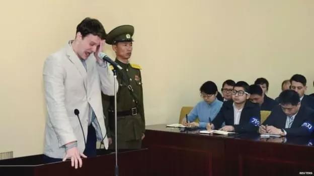 从朝鲜获释不到1周死亡 这位美国大学生经历了什么