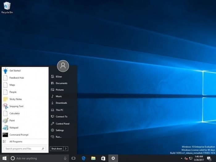 第三方开始菜单软件导致微软Windows 10升级时崩溃的照片