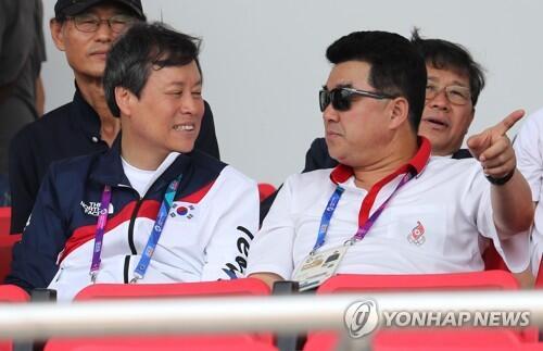 韩体育部长:已向朝提议组建联队共同出战东京奥运