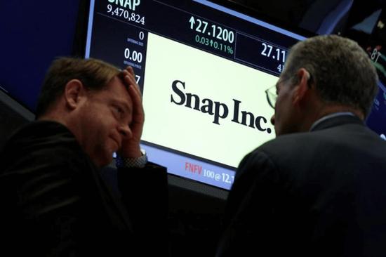 收入强劲+用户增长,Snap股价飙升近30%涨回发行价