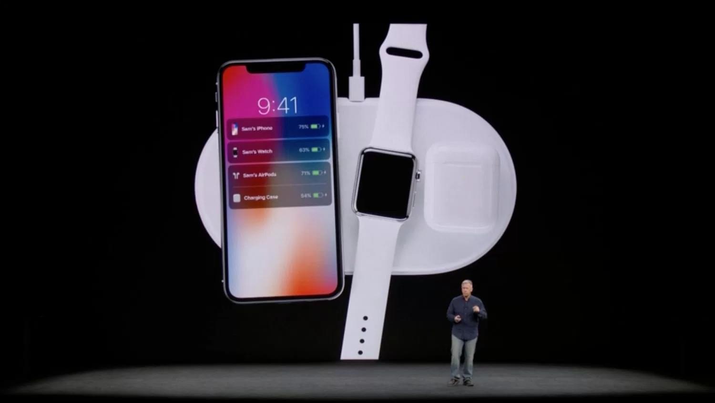 苹果发布AirPower:能为iPhoneX等提供无线充电