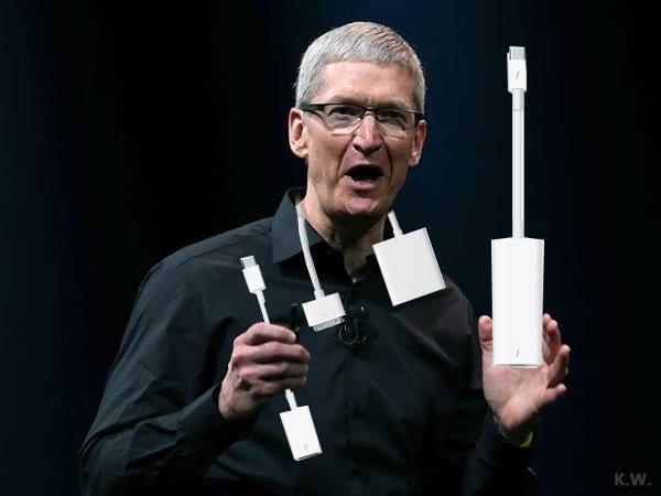 苹果使用USB-C接口真是为了卖配件赚钱吗?的照片 - 1
