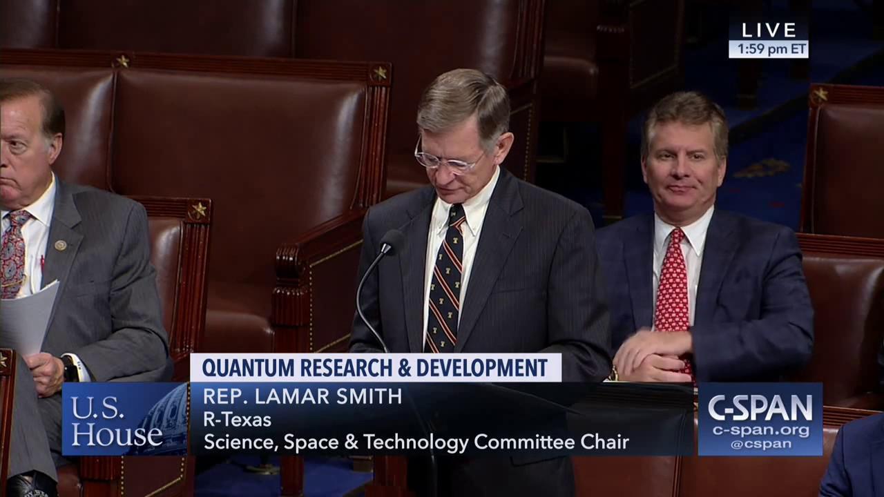 """美媒渲染中美""""量子竞赛"""" 众议院通过法案加大投入"""
