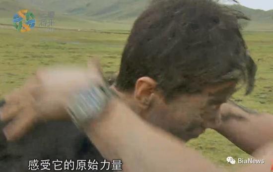 李彦宏女儿首度现身 厂长曾在贝尔节目吃虫爬泥坑的照片 - 8