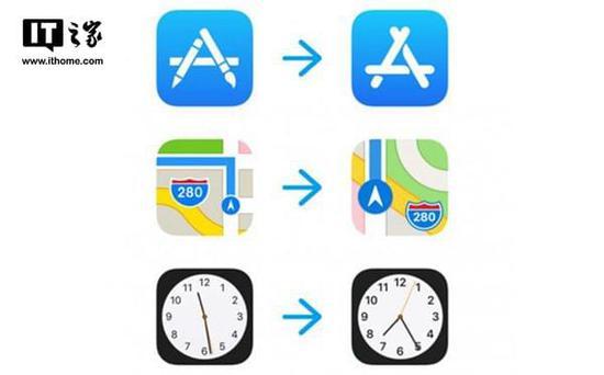 iOS11 Beta 6再改多款App图标:地图亮了