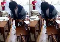王俊凯高考后主动打扫教室 网友:别装了累不累