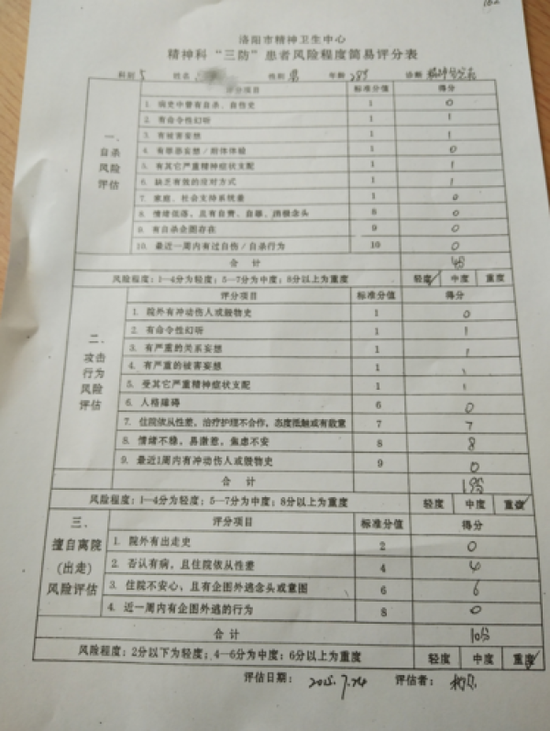 大学生被强行送精神病院134天 自救后起诉学校