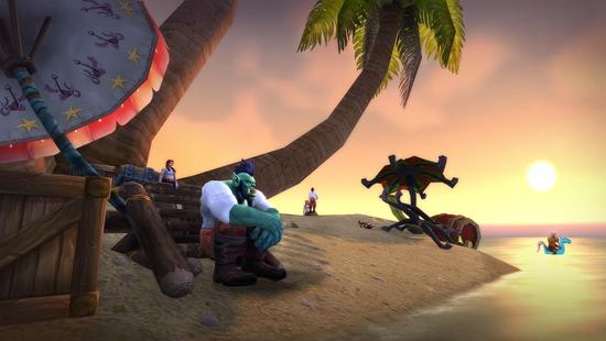 来魔兽藏宝海湾庆祝!9月19日欢度海盗日