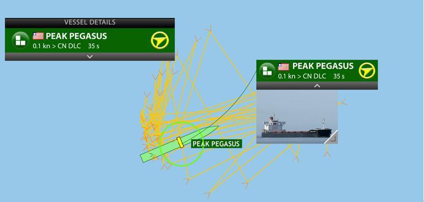 美国大豆船上演生死时速 1个月后还在海上绕圈圈