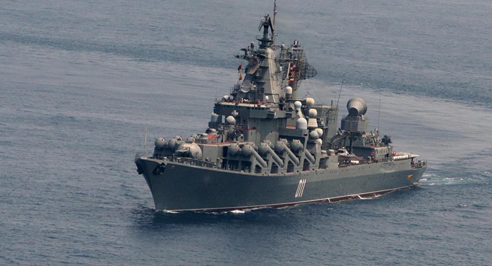 俄太平洋舰队编队访问文莱 开