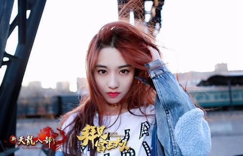 """孙雪宁美照,个性少女雨晨""""萌""""主"""