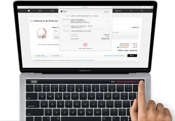 macOS继续泄密 新款MBP的Touch ID设置图标的照片 - 1