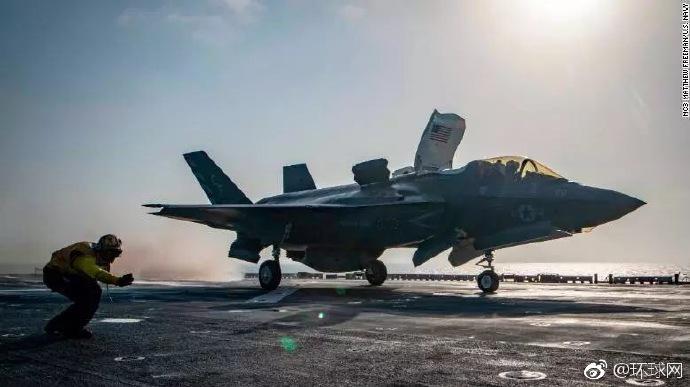美国海军陆战队一架F-35B战机坠毁 系F-35首次坠毁