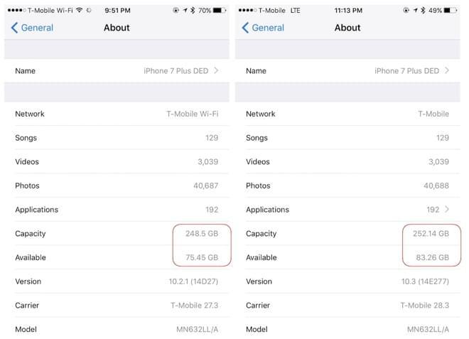 向APFS文件系统转进:iOS 10.3为iPhone变相扩容存储空间的照片 - 2