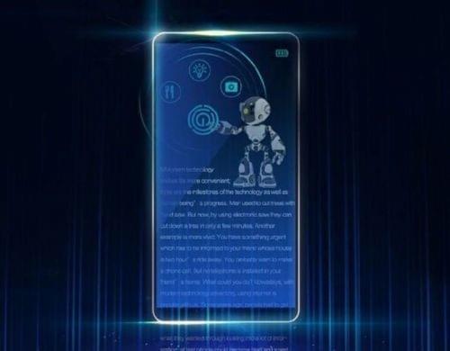 荣耀Note 9曝光:华为首款全面屏设计机型