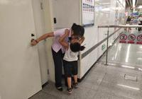 """被3岁儿子""""索吻求抱抱""""地铁值班妈:时间停了"""